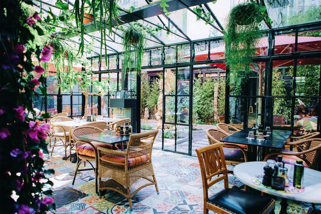 Courtyard at Axel Guldsmeden in Copenhagen