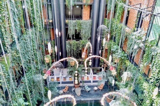 Jungle Pool at Manon Les Suites in Copenhagen